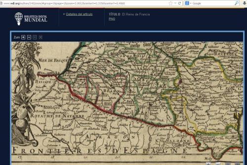 Mapa frances