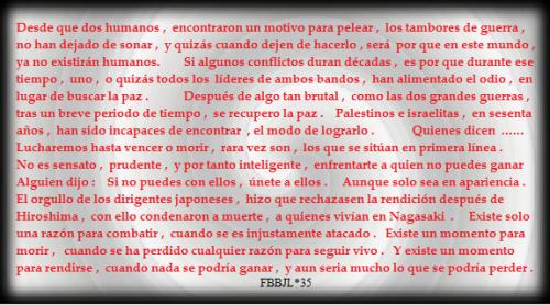 Guerra #FBBJL