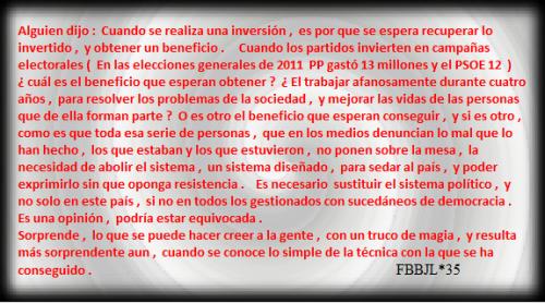 Gasto electoral FBBJL